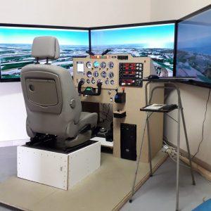activité simulateur avion monomoteur